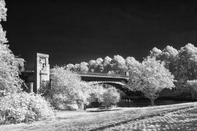 Kuhmühlenteichbrücke (III)